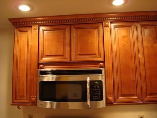 Microwave kitchen cabinet Photo - 1