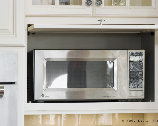 Microwave kitchen cabinet Photo - 5