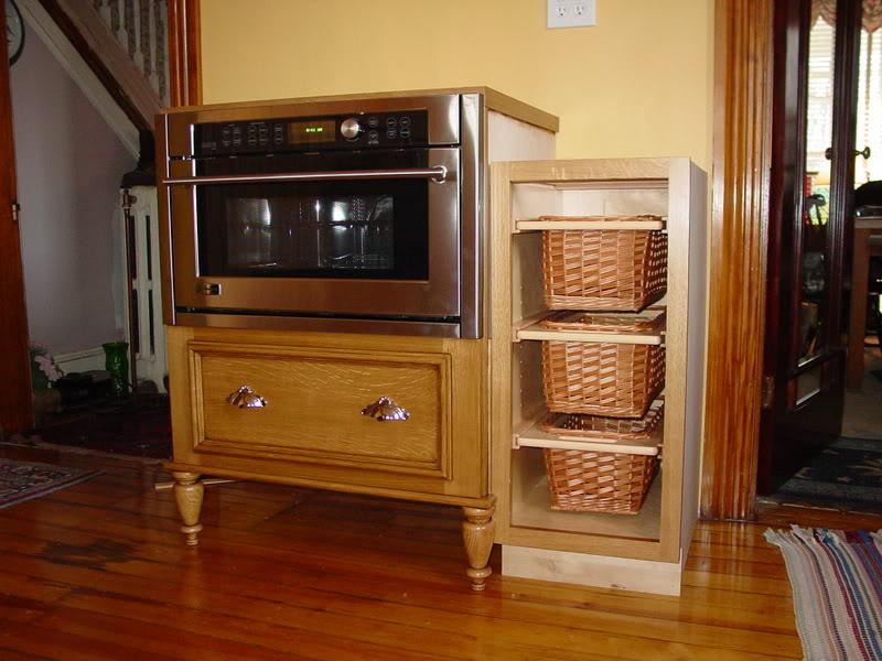 Microwave kitchen cabinet Photo - 8
