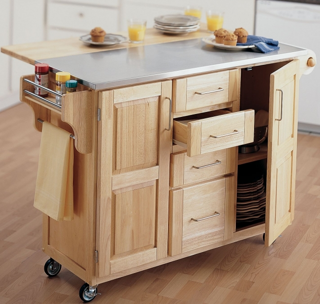Movable kitchen cabinets Photo - 11