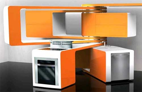 Movable kitchen cabinets Photo - 5