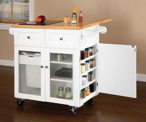 10 Photos To Movable Kitchen Island