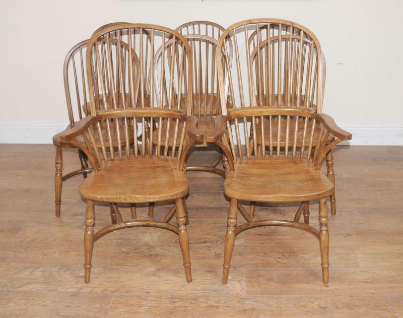 Oak kitchen chairs Photo - 11