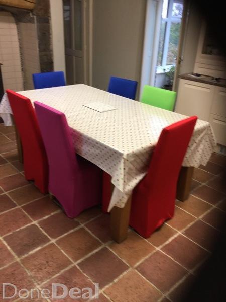 Oak kitchen chairs Photo - 12