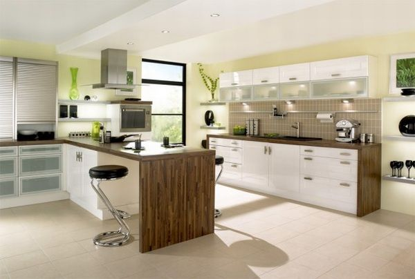 Oak kitchen pantry cabinet Photo - 9