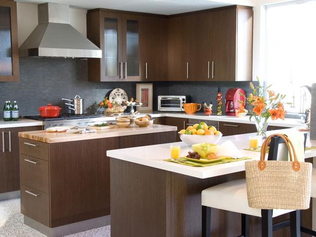 Oak kitchen pantry storage cabinet Photo - 3