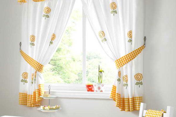 Orange Kitchen Curtains Photo U2013 9