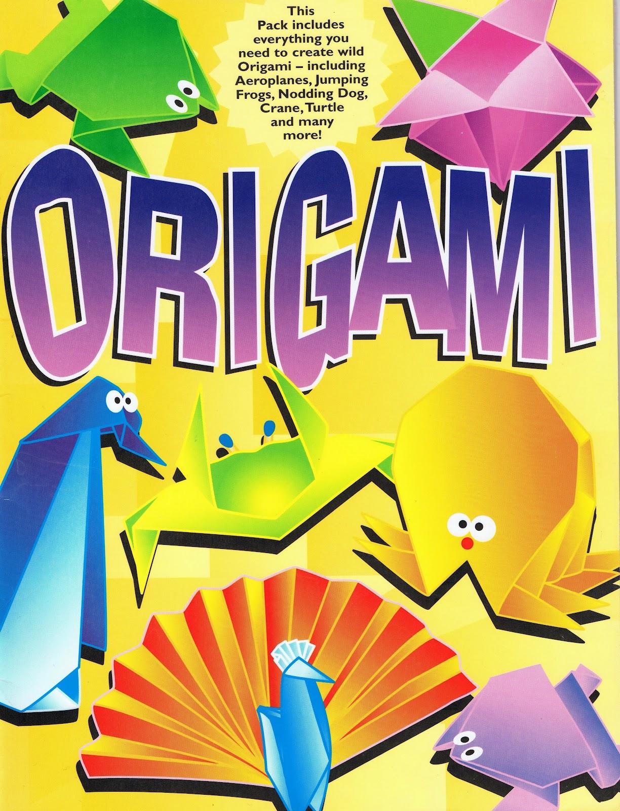 Origami folding kitchen island cart
