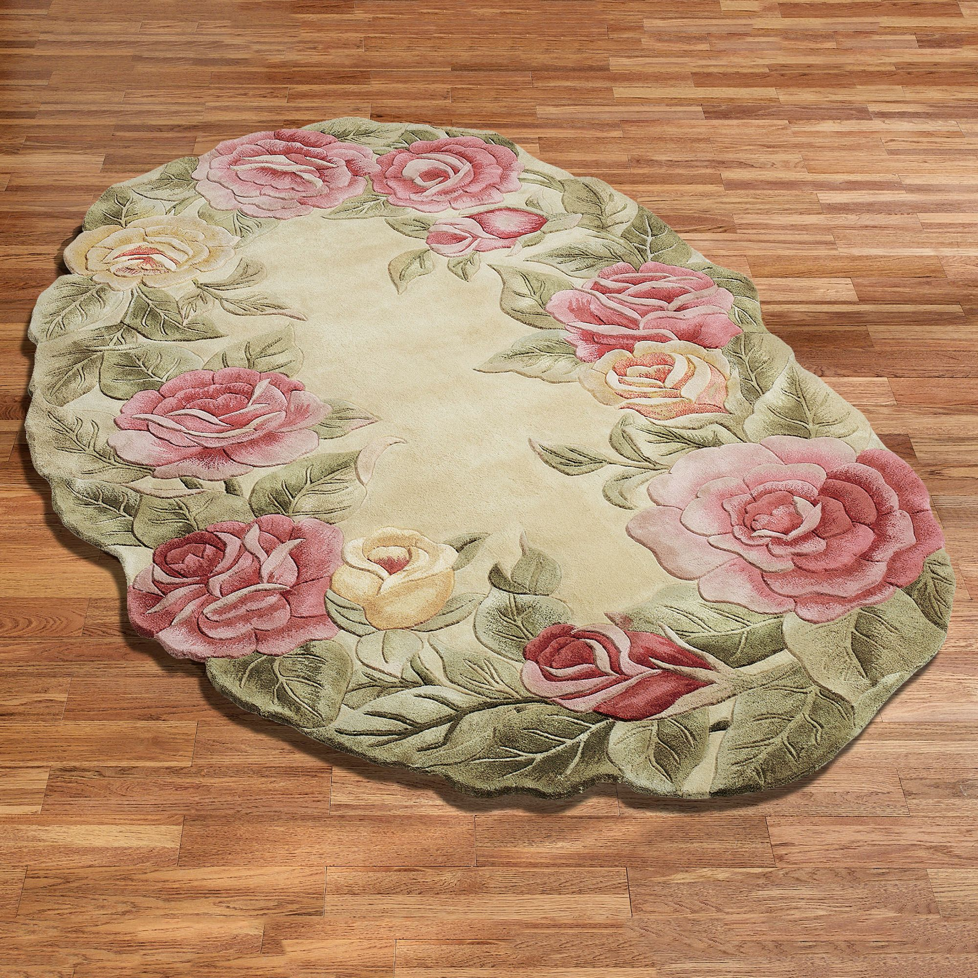 Rose Bath Rug Rugs Ideas