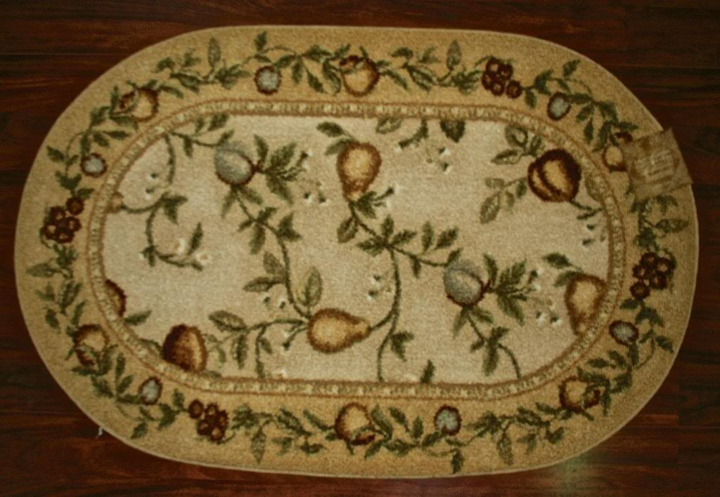 Oval kitchen rugs rugs ideas for Small rugs for kitchen