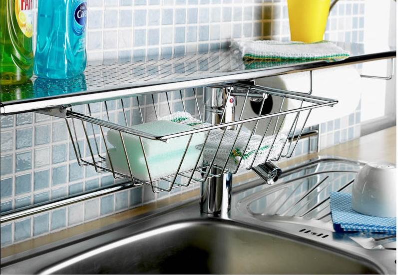 Over kitchen sink shelf Photo - 12