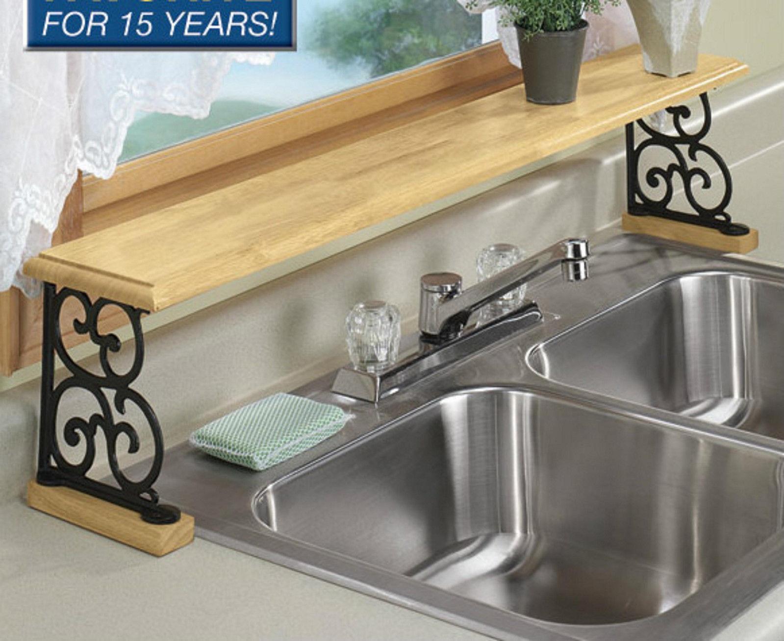 Over sink shelf kitchen Photo - 1