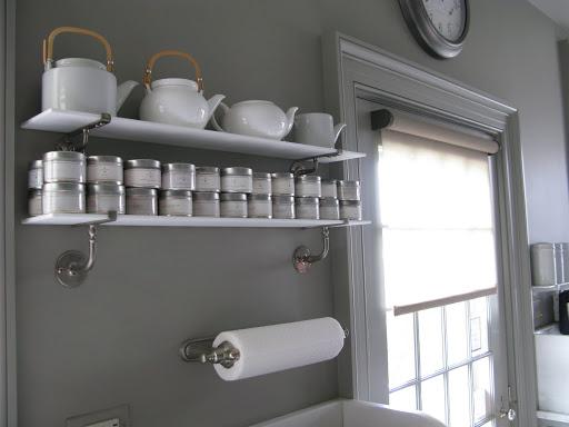 Over sink shelf kitchen Photo - 2