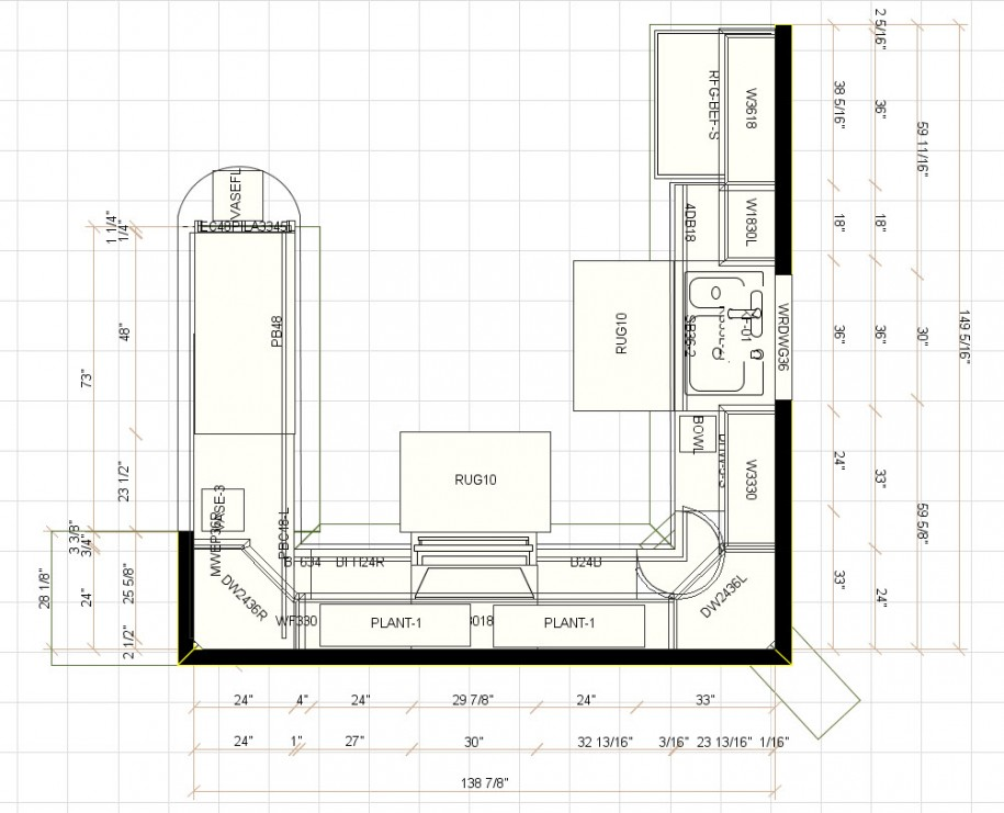 Corner Kitchen Cabinet Plans Free Nagpurentrepreneurs - Kitchen-design-simple-plans