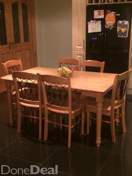 Pine kitchen chairs Photo - 12