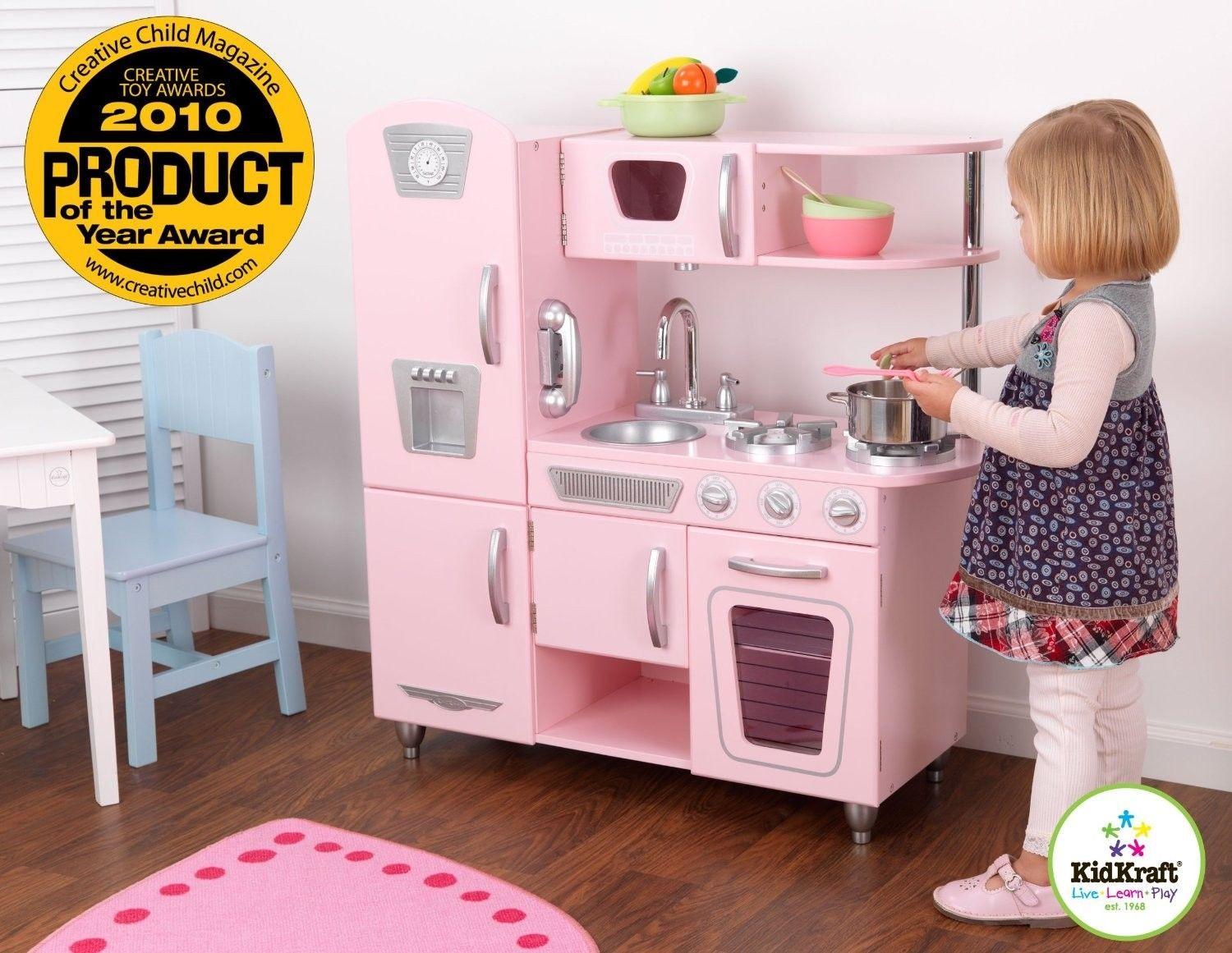 Pink kids kitchen | | Kitchen ideas