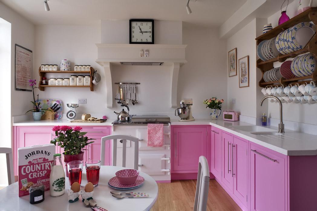pink kitchen appliances photo - 10 | kitchen ideas