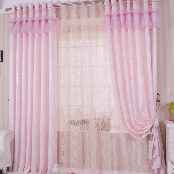 10 Photos To Pink Kitchen Curtains