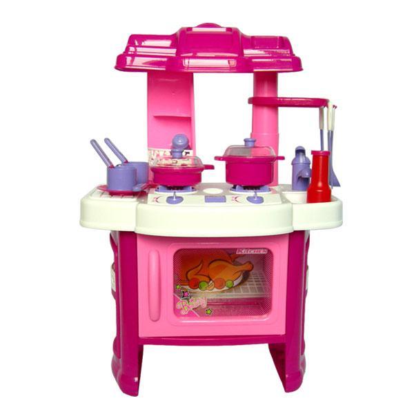 Pink kitchen playset