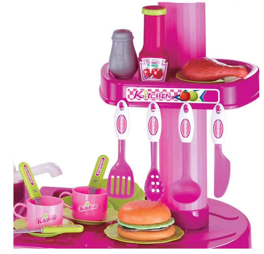 Pink kitchen set photo 9 kitchen ideas for Kitchen set games