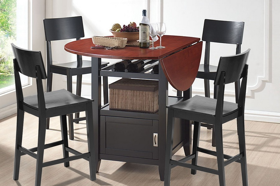 dining room sets pub style nor table set retro - Kitchen Bistro Tables And Chairs