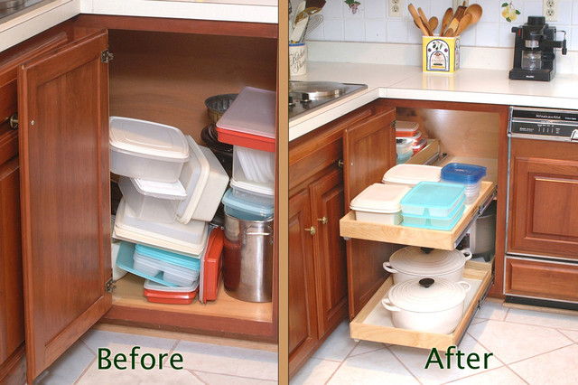 Pull out kitchen cabinet organizers Photo - 7