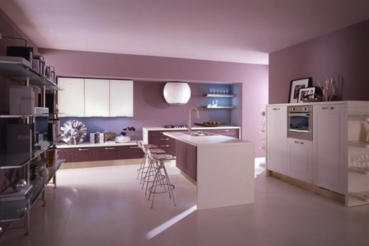 Purple Kitchen Purple Kitchen Accessories Kitchen Ideas