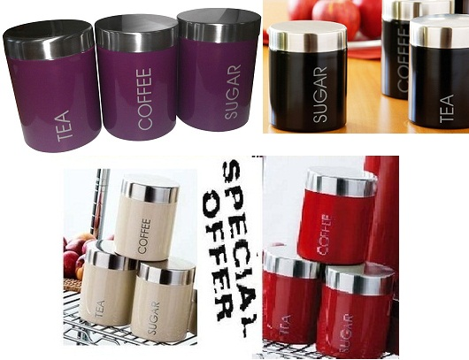 kitchen tea canisters kitchen xcyyxh com vida by espana canisters set of 3 jardine