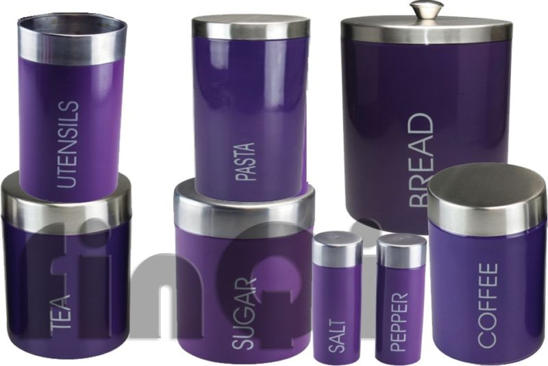 purple kitchen canisters kitchen ideas purple kitchen canister sets