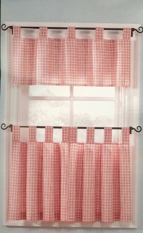 Red Checkered Kitchen Curtains 28 Images Kitchen Curtains Cortinas Pinterest Make Red