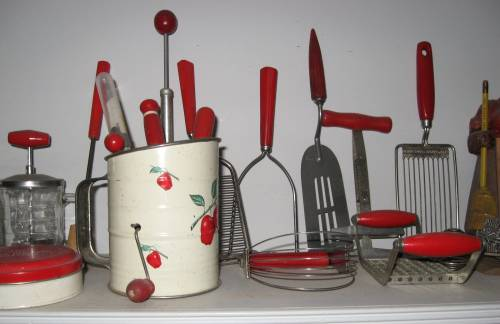 Red Kitchen Accessories Photo 6 Kitchen Ideas
