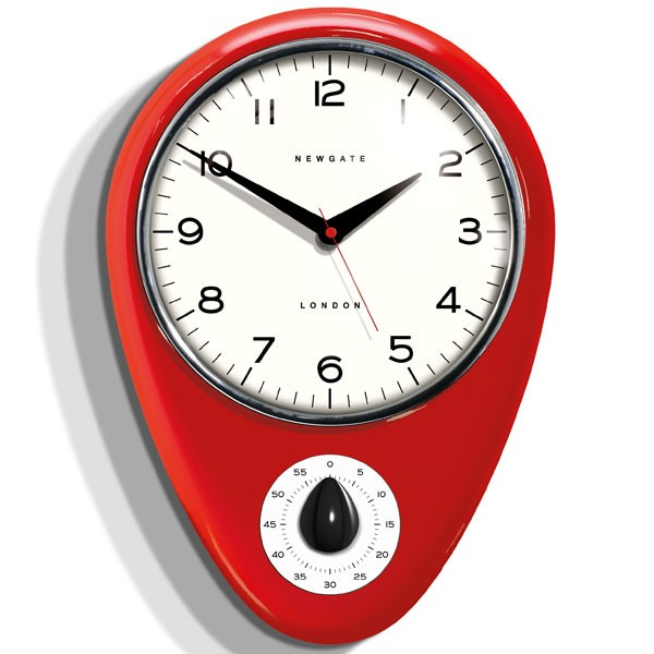 10 Photos To Red Kitchen Clock