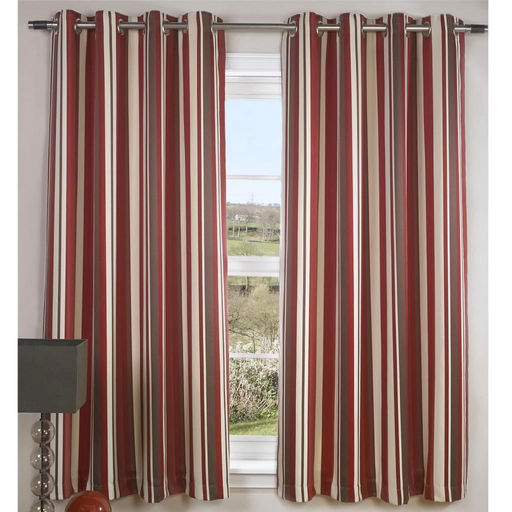 Red Kitchen Curtains Photo - 7