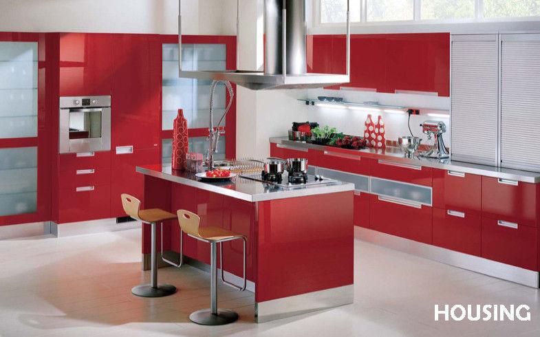 Red kitchen pantry | Kitchen ideas