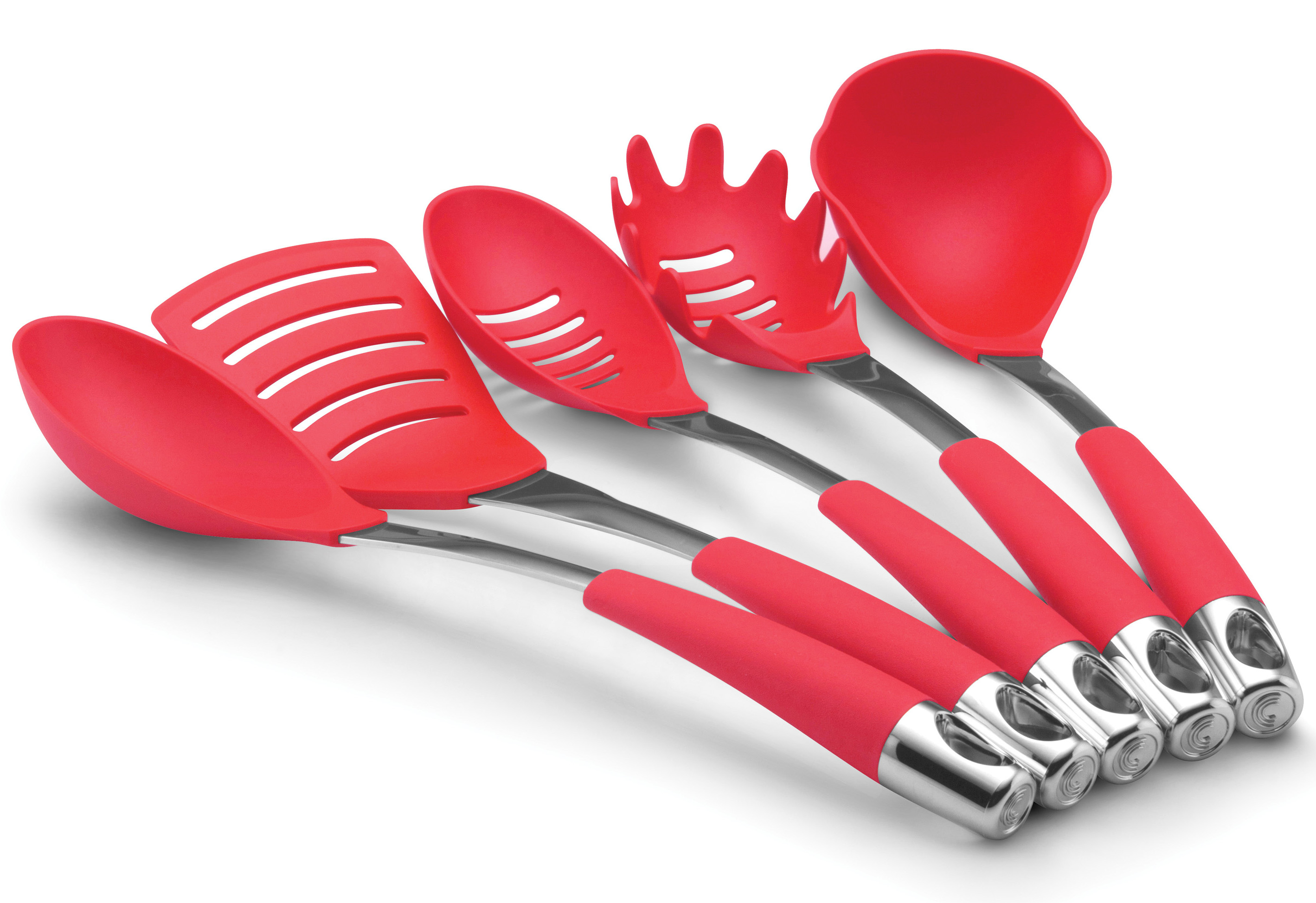 Delicieux 10 Photos To Red Kitchen Utensil Set