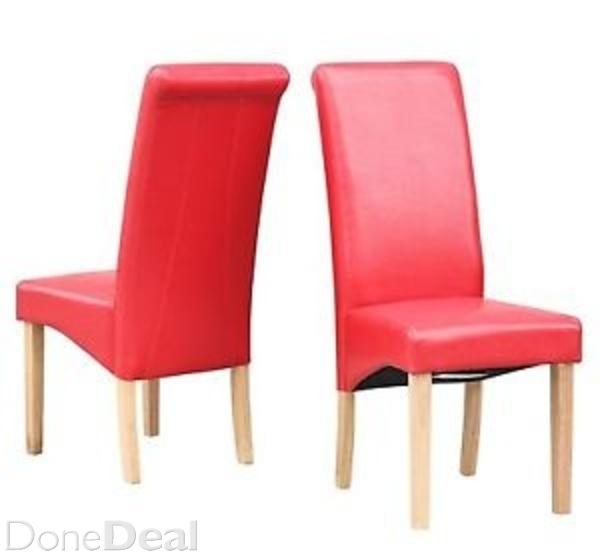 red leather kitchen chairs | kitchen ideas