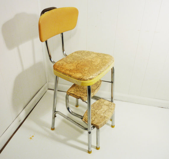 Retro kitchen step stool Photo - 7 | Kitchen ideas