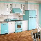 Retro kitchen table and chairs set Photo - 1