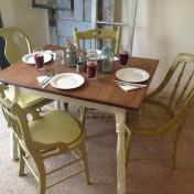 Retro kitchen table set Photo - 1