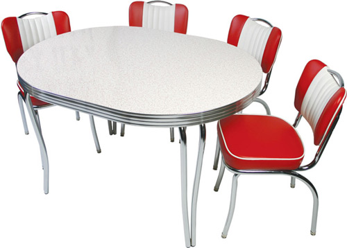 Retro kitchen tables and chairs Photo - 10