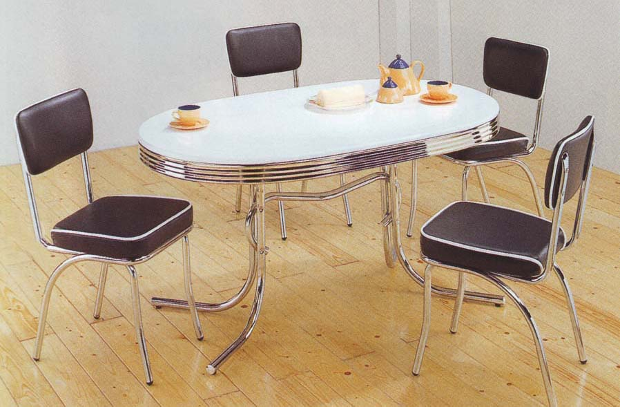 Retro kitchen tables and chairs Photo - 8