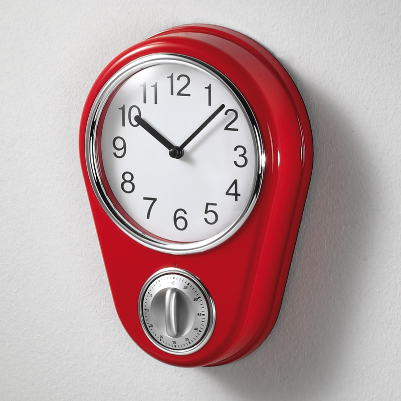 Retro kitchen timer Photo - 2