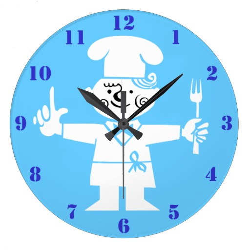 Retro kitchen wall clock Photo - 6