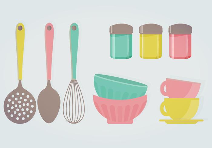 Retro kitchenware Photo - 2