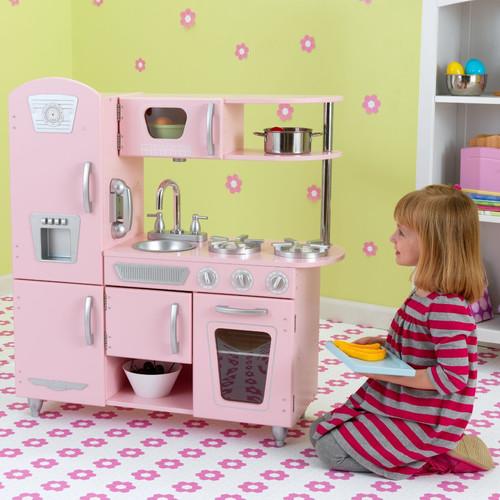 Retro pink kitchen Photo - 11