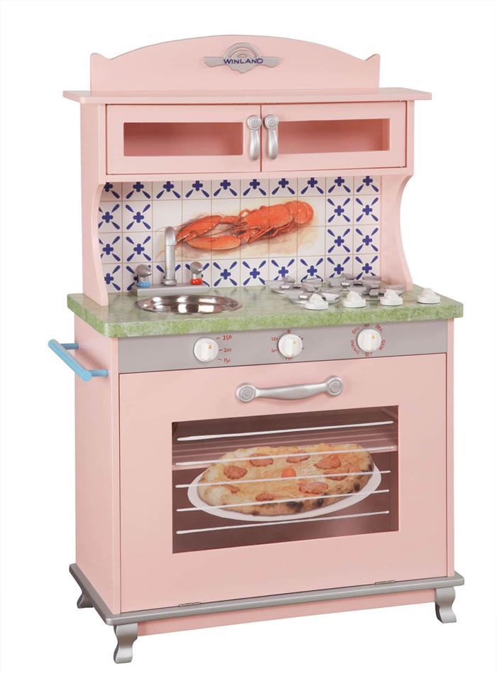 Retro pink kitchen Photo - 5