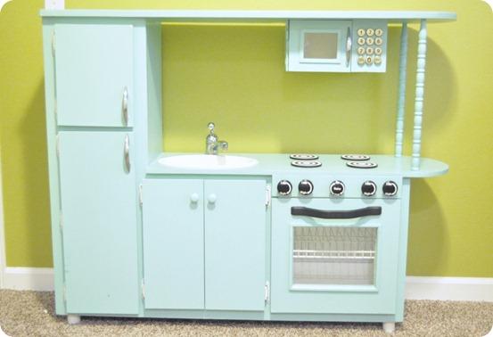 Retro toy kitchen Photo - 1