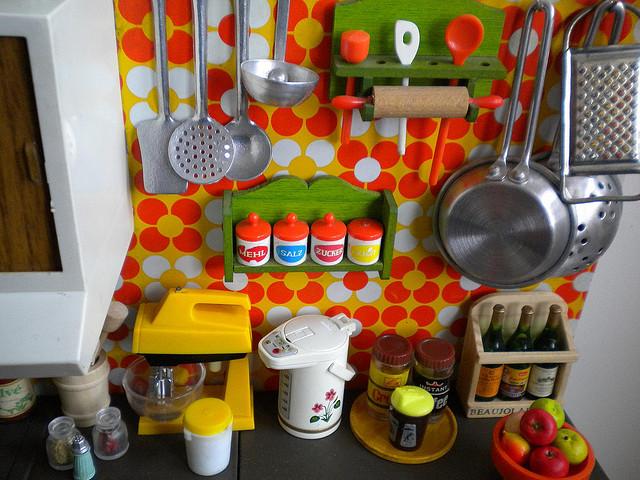 Retro toy kitchen Photo - 5