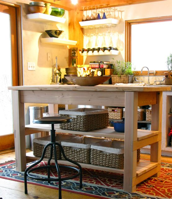 Small Renovations Design And Kitchen Diy Island On Wheels