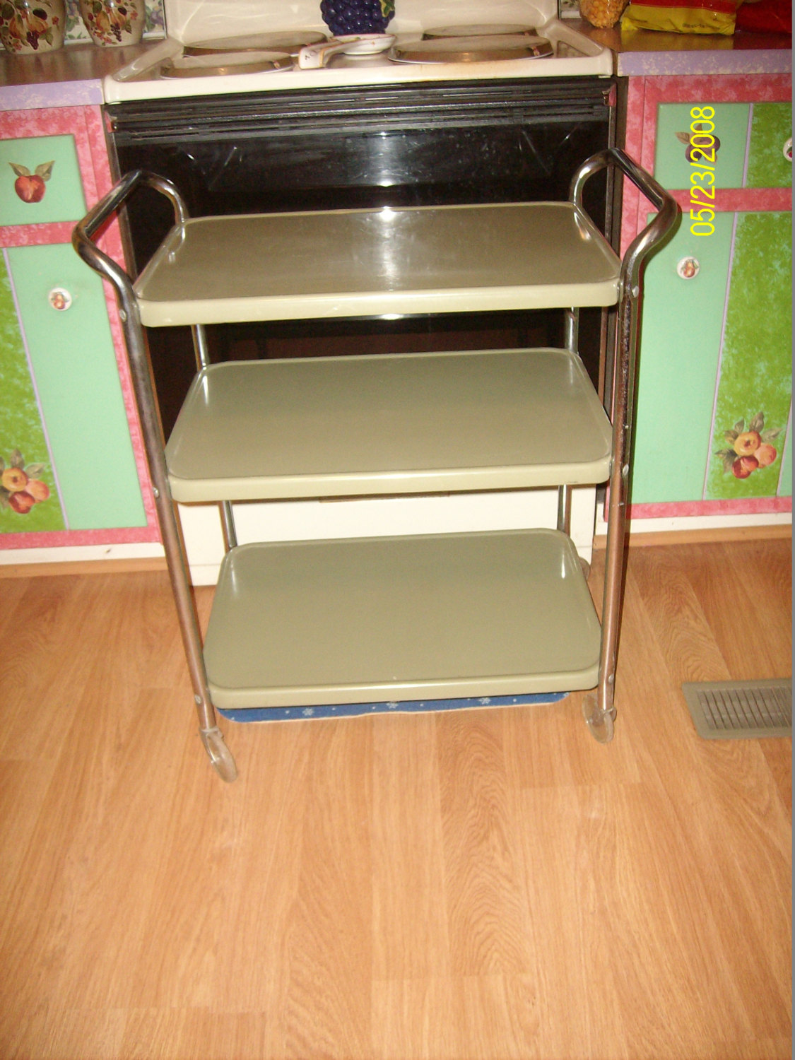 Rolling kitchen cabinet Photo - 6
